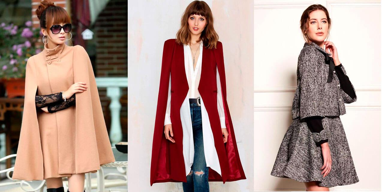 Пальто кейп-силуэта мода 2019